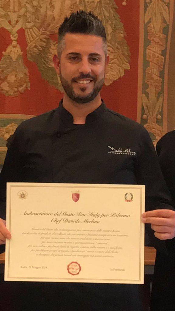 Davide Merlino è Ambasciatore Doc Italy | Sicilia da Gustare
