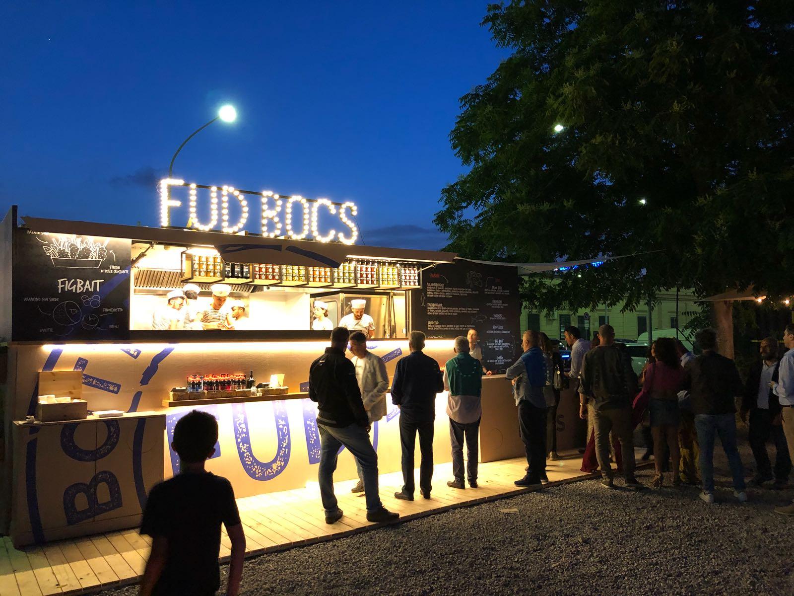 Dal primogiugno Fud Bocs, il fish bar targato Fud Bottega Sicula, riaprealNautoscopioArte di Palermo | Sicilia da Gustare