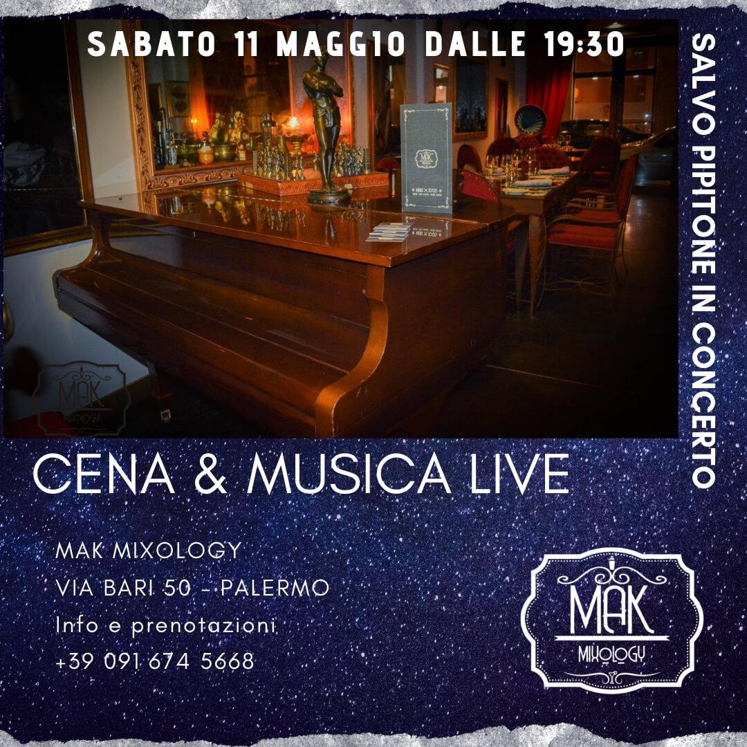 Mak Mixology, l'aperitivo sulle note del pianista Salvo Pipitone in Galleria delle Vittorie | Sicilia da Gustare