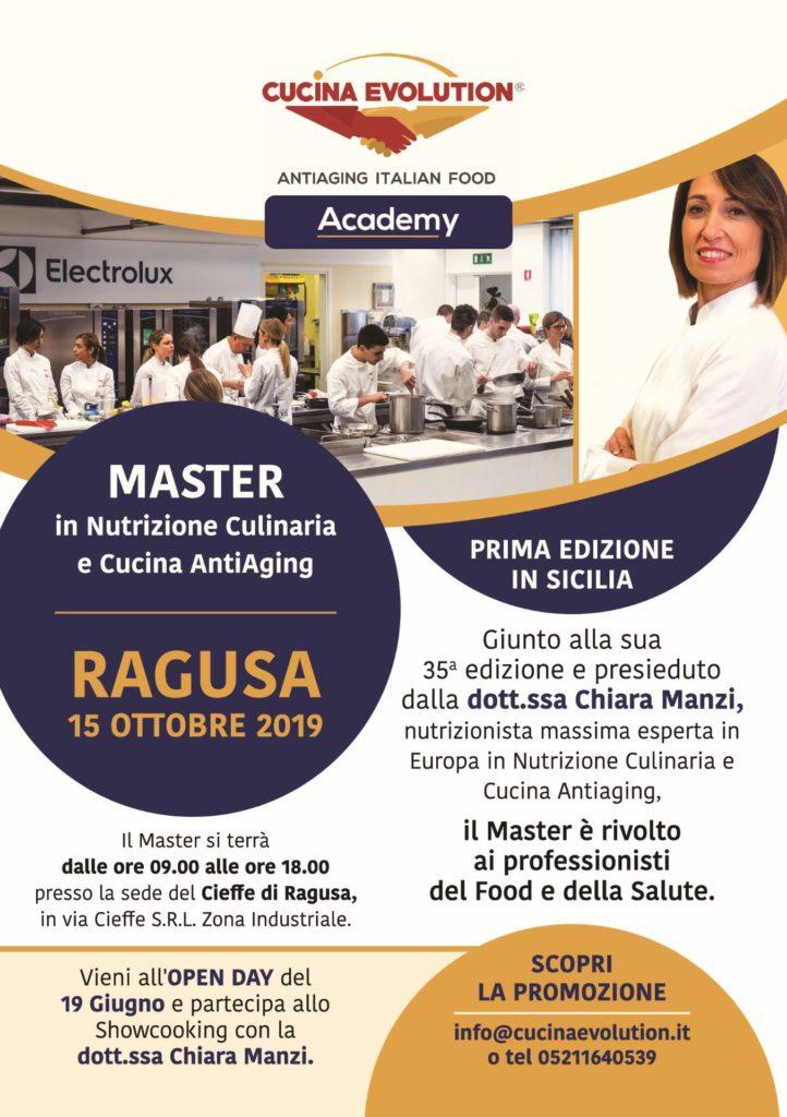 Master in Nutrizione Culinaria e Cucina AntiAging | Sicilia da Gustare