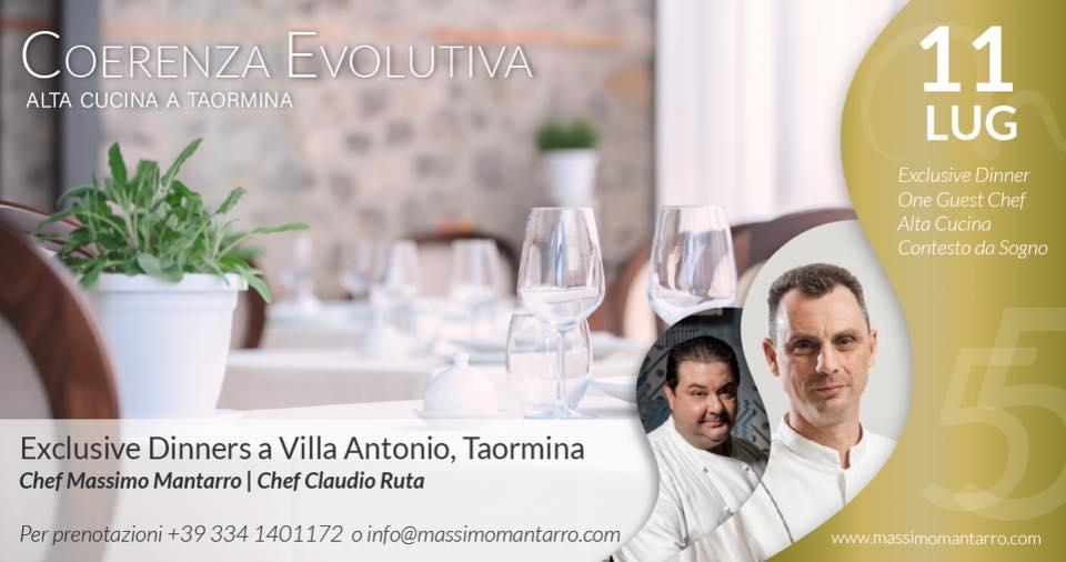 Cena esclusiva con gli chef Mantarro e Ruta | Sicilia da Gustare
