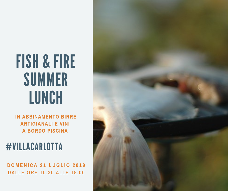 Fish & Fire – Summer Lunch | Sicilia da Gustare
