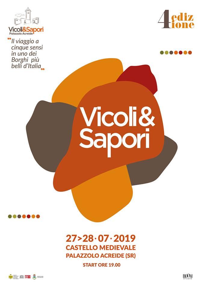Vicoli& Sapori - IV edizione   Sicilia da Gustare