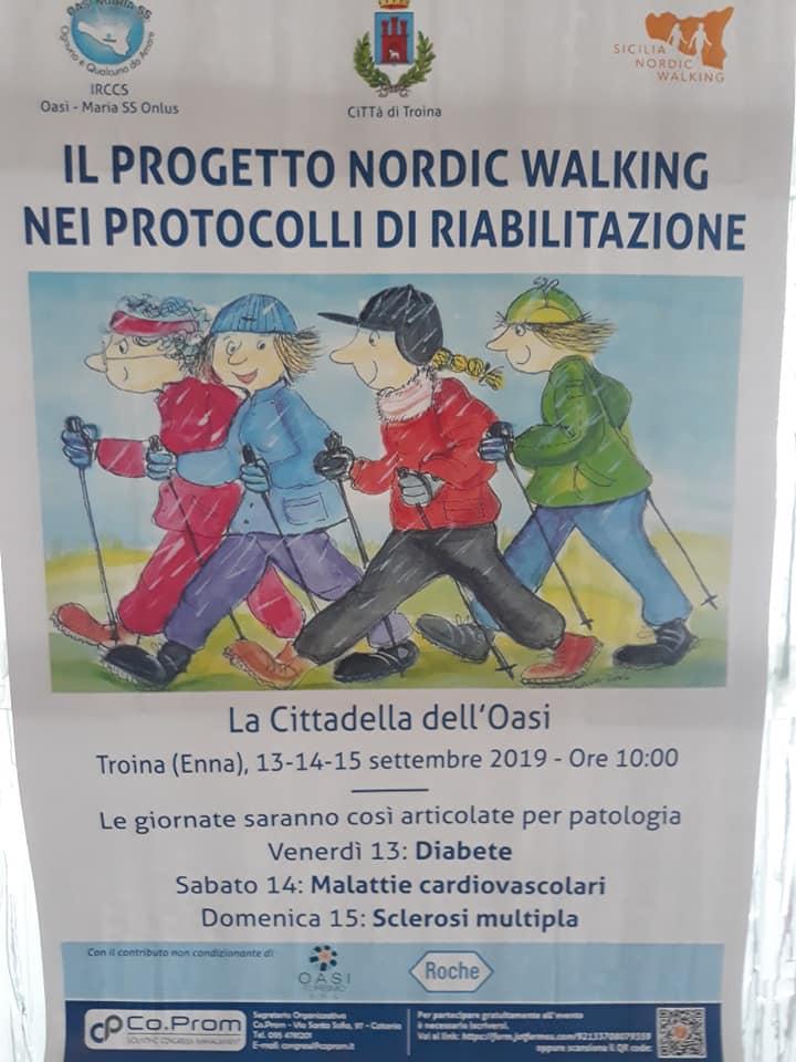 """Al progetto """"Nordic Walking"""" protagonista Sicilia da Gustare"""