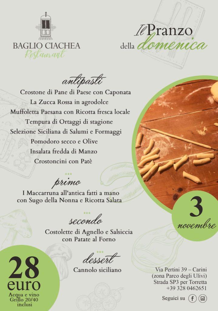 Baglio Ciachea Restaurant Halloween | Sicilia da Gustare