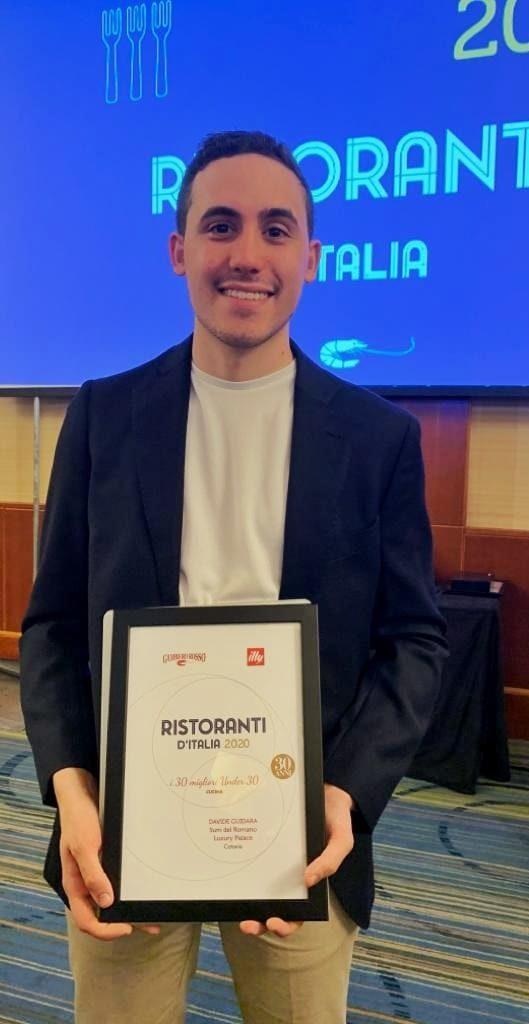 Davide Guidara migliore Chef Under30 per Gambero Rosso | Sicilia da Gustare