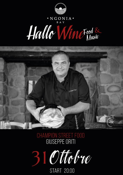 "Party di ""Hallo Wine"" all'Ngonia Bay 