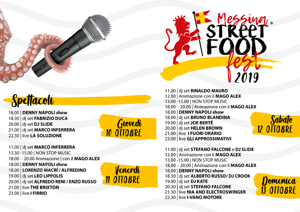 Messina Street Food Fest | Sicilia da Gustare