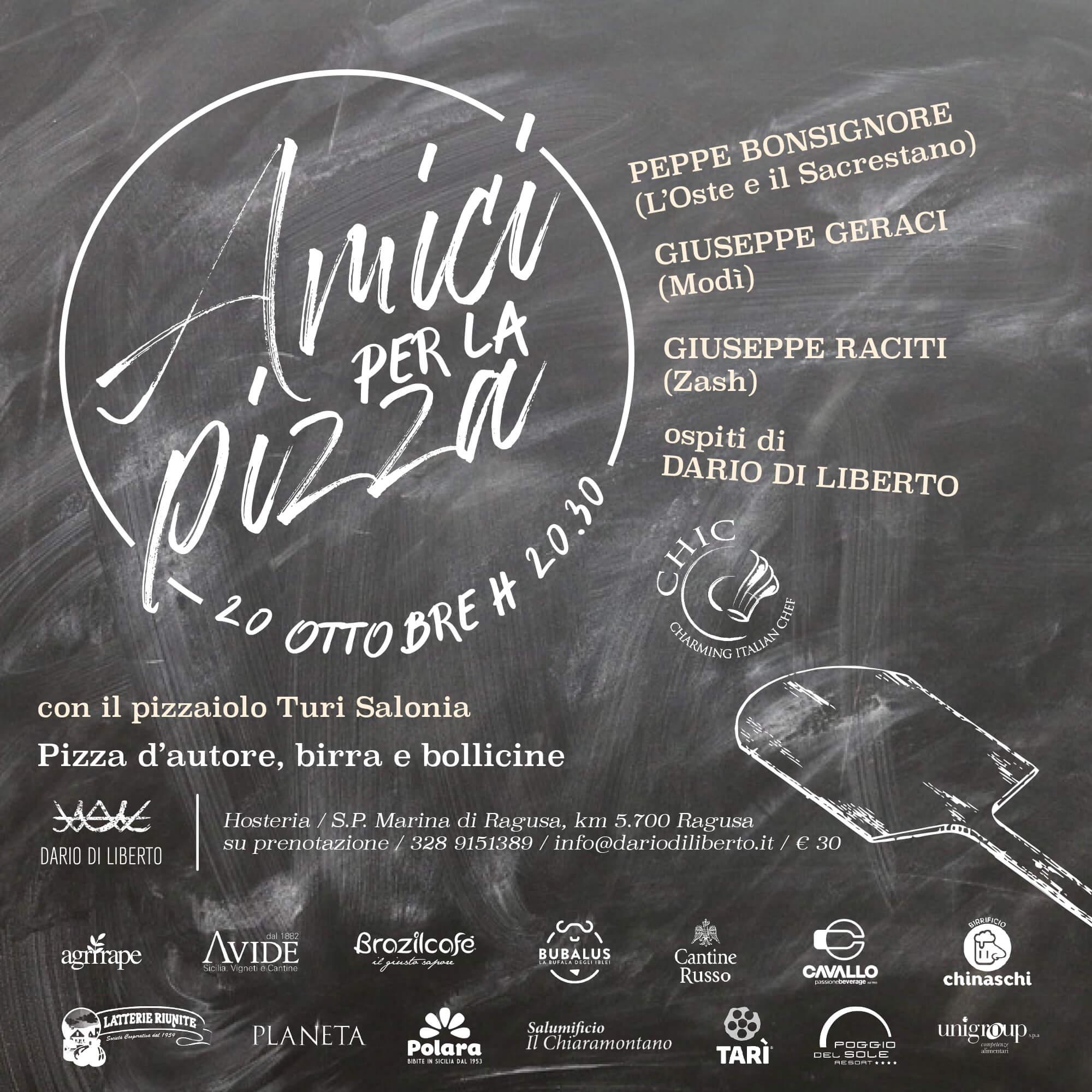 Amici per la pizza | Sicilia da Gustare