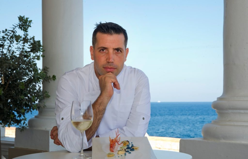 Chef Claudio Schiavone | Dragonara Brasserie | Ristorante Malta | Sicilia da Gustare
