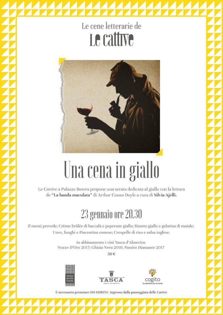 Tornano le cene letterarie de Le Cattive. | Sicilia da Gustare