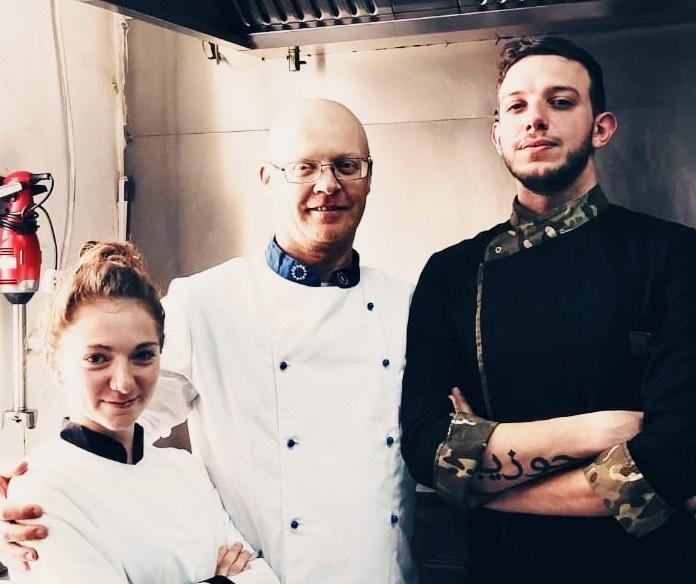 Chef Alessandra, Fabio, Peppe | Zero Sei Trattoria Romana | Ristorante Malta | Sicilia da Gustare
