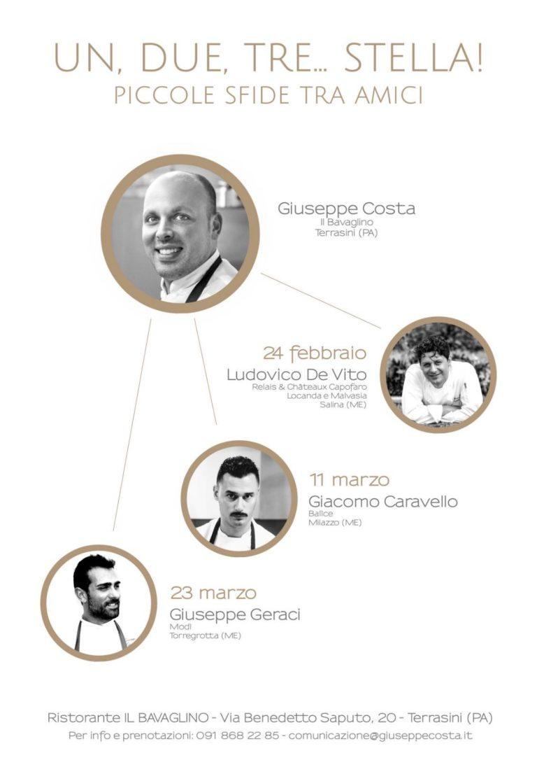 Chef Giuseppe Costa - Un, due, tre... Stella!