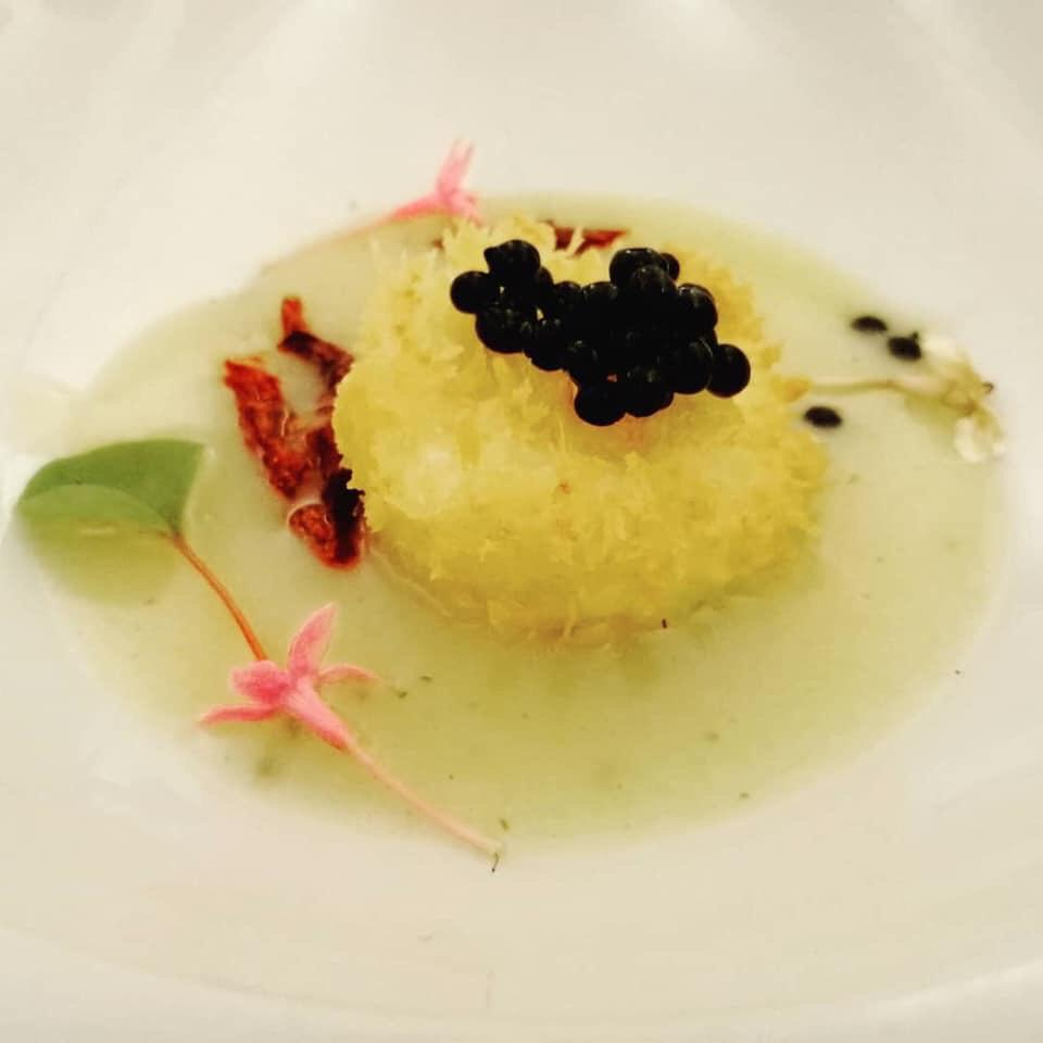 Tuorlo croccante | Chef Hermes Picone | Sicilia da Gustare