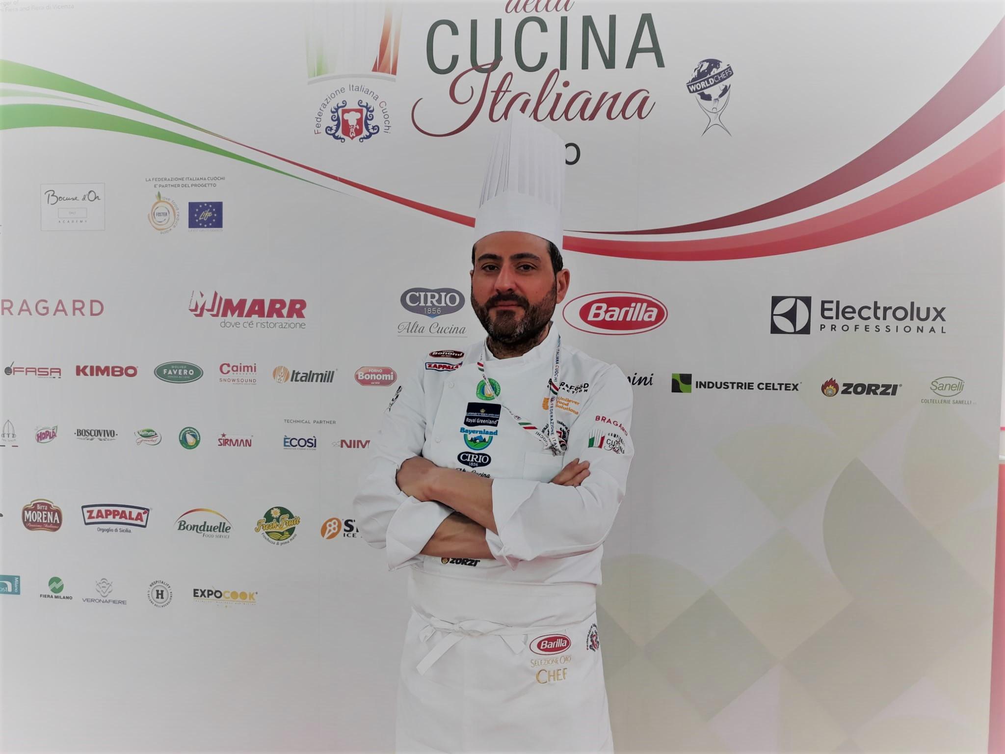 Luciano Coletta medaglia di bronzo ai Campionati FIC di Rimini | Sicilia da Gustare