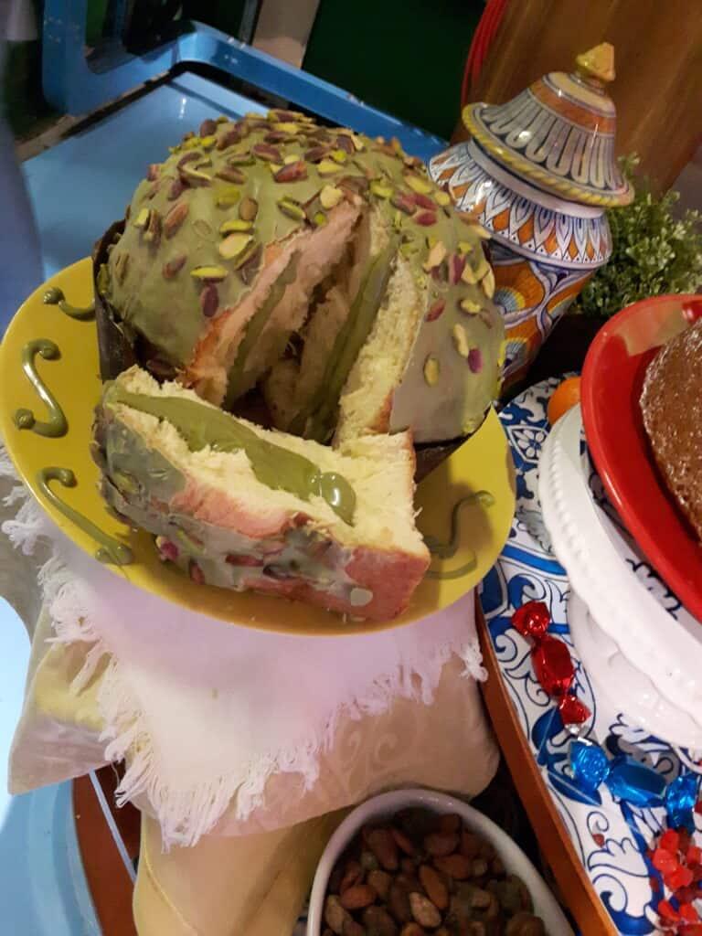 Panettone Pasticceria Sparacello pistacchio bronte