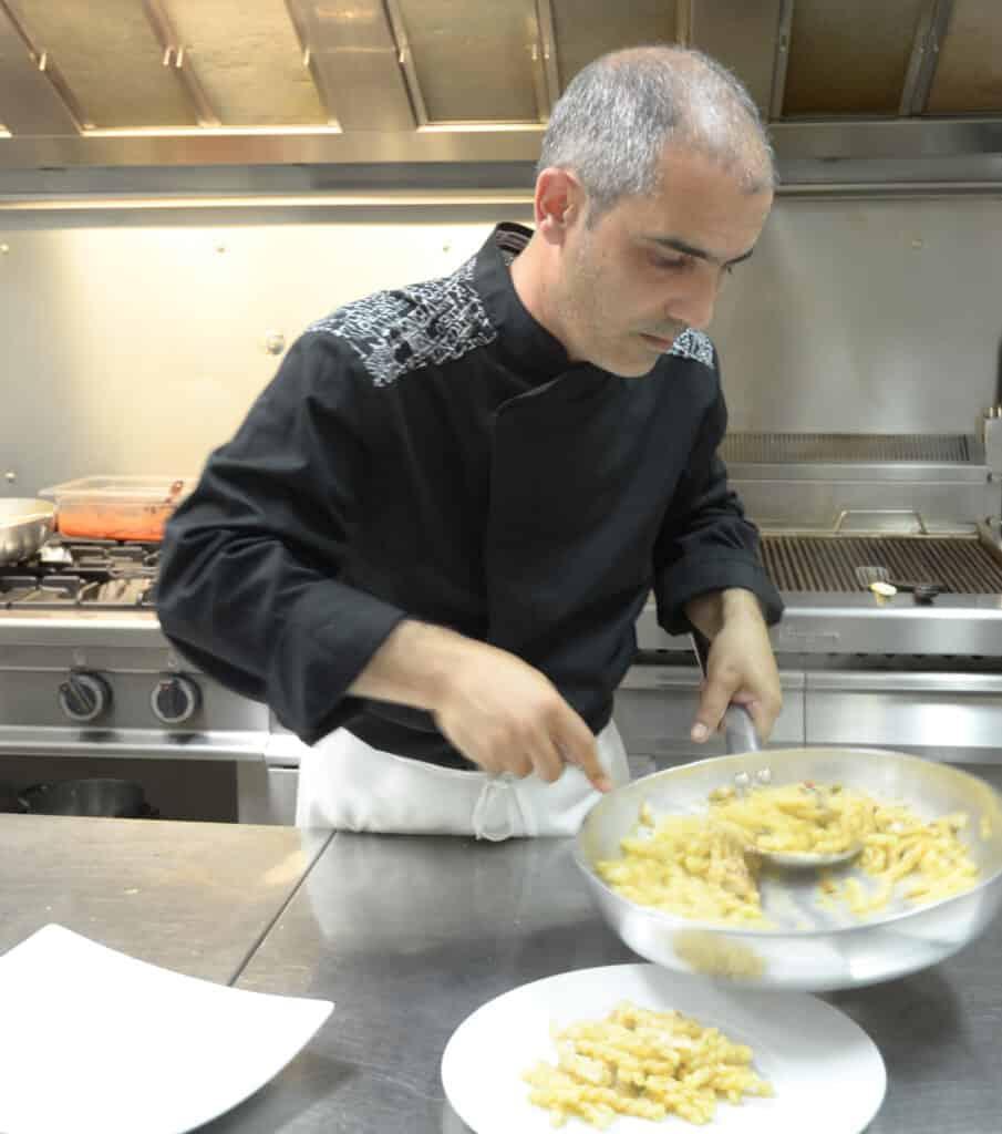 Ristorante Orsa Maggiore chef Rodolfo Lazzaro