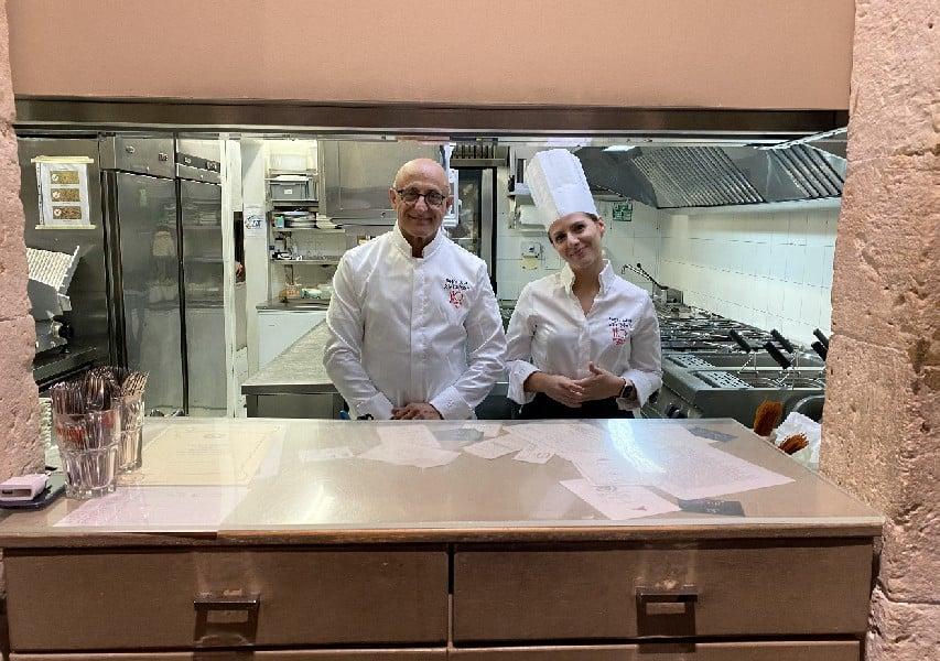 Ristorante Regina Lucia Salvo Calleri e Roberta Gallo ortigia