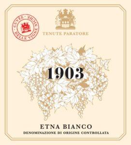 Cuvée delle Vigne Niche 1903
