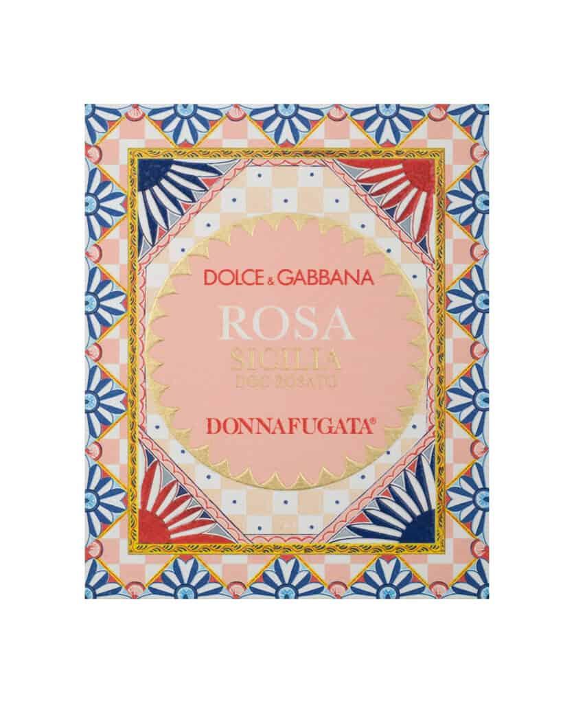 Etichetta Dolce e Gabbana Donnafugata
