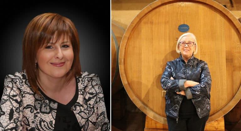 Paola Longo e Donatella Cilenni le donne del vino