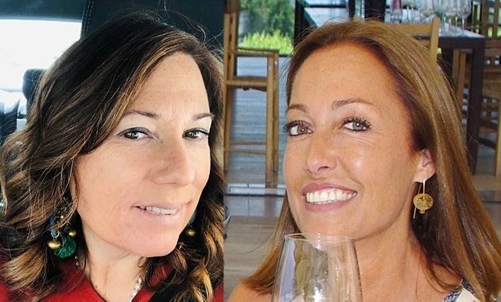 foto a sx Roberta Urso e Manuela Zennaro