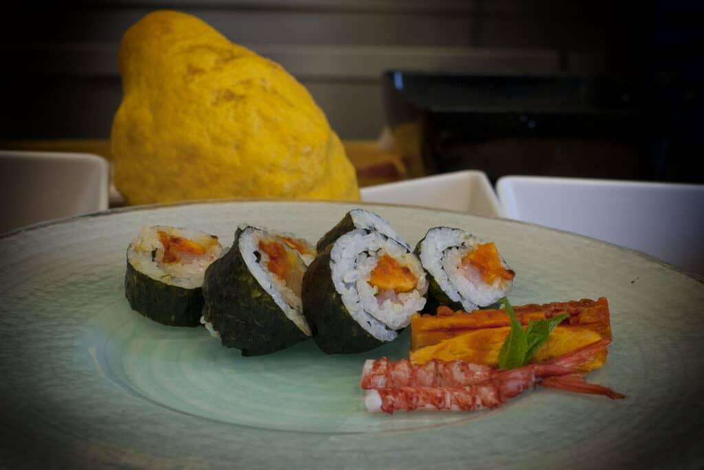 Sushi chef giovanni grasso