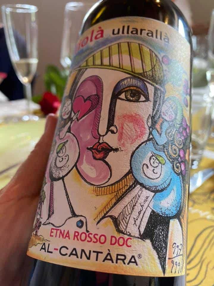 Al-Cantàra, l'ultimo Etna Rosso Doc, Liolà Ullaralla, vino da collezione (999 bottiglie)