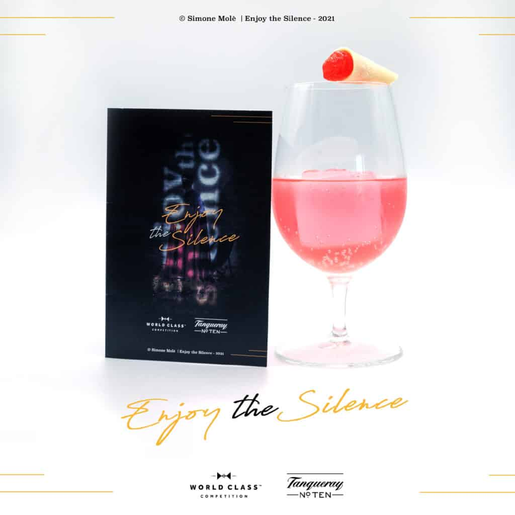 Enjoy the silence, cocktail winner