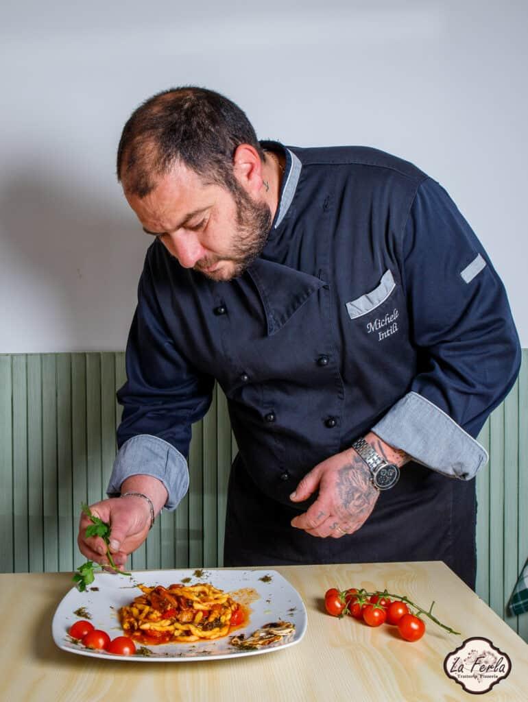 Enna Ristorante Trattoria La Ferla Chef Michele Intili