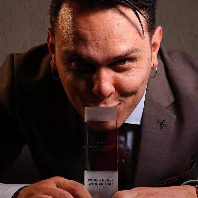 Simone Molè, miglior bartender d'Italia.
