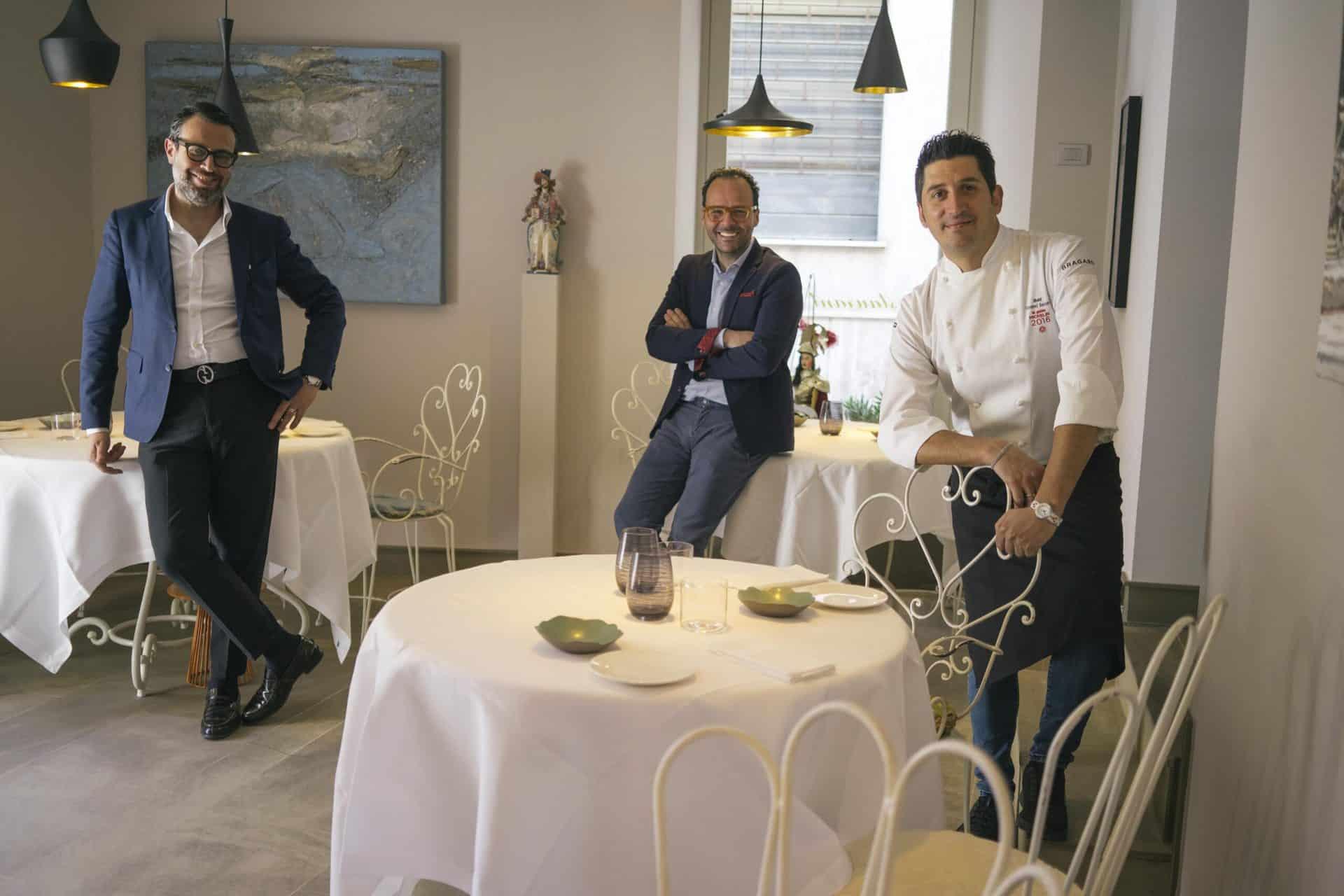 leonardo pennisi - luciano pennisi - chef giovanni santoro