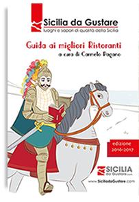 copertina guida ai ristoranti Sicilia di Carmelo Pagano